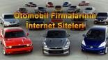 Otomobil Firmalarının Internet Siteleri