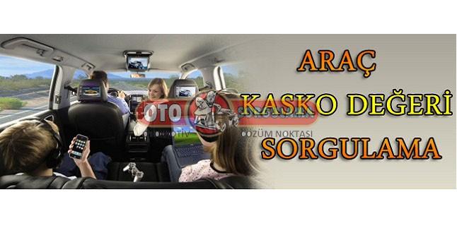 Araç Kasko Değeri Sorgulama