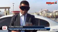 """Polisten """"Alkol Gözlüklü"""" örnek uygulama"""