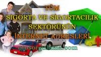 Tüm sigorta ve sigortacılık sektörünün web (internet) adresleri