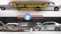 1959 Chevrolet Bel Air versus – 2009 Chevrolet Malibu çarpışma testi