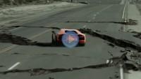 Lamborghini Aventador müthiş dansı