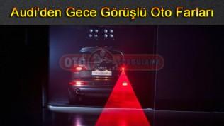 Audi'den Gece Görüşlü Oto Farları