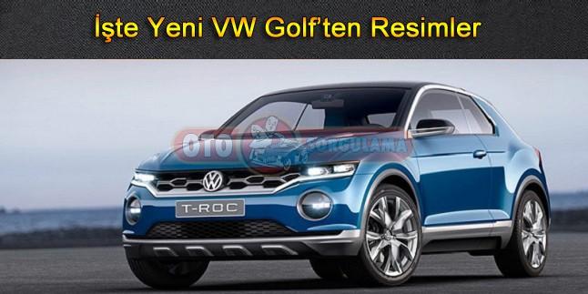 İşte Yeni VW Golf'ten Resimler