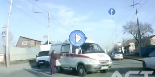 Trafikte Ölümle Yaşam Arasındaki Kader Anları