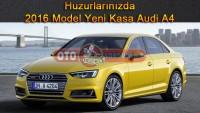 Huzurlarınızda 2016 Model Yeni Kasa Audi A4
