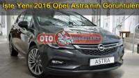 İşte Yeni 2016 Opel Astra'nın Görüntüleri