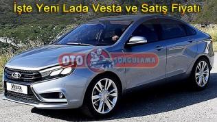 İşte Yeni Lada Vesta ve Satış Fiyatı