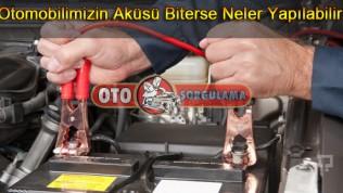 Otomobilimizin Aküsü Biterse Neler Yapılabilir !