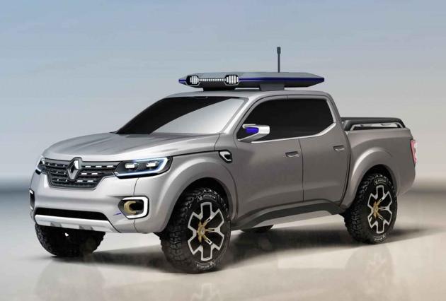 Renault Alaskan pick-up-yan