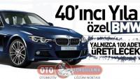 BMW'den 40'ıncı Yıla Özel 3 Serisi