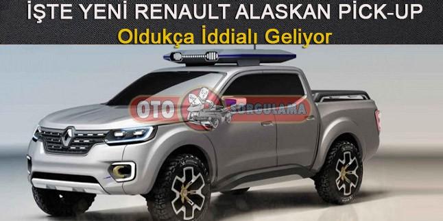 İşte Yeni Renault Alaskan Pick-up,Oldukça İddialı Geliyor
