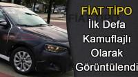 2016 Fiat Tipo Hatchback,ilk defa kamuflajlı olarak görüntülendi