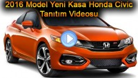 2016 Model Yeni Kasa Honda Civic Tanıtım Videosu