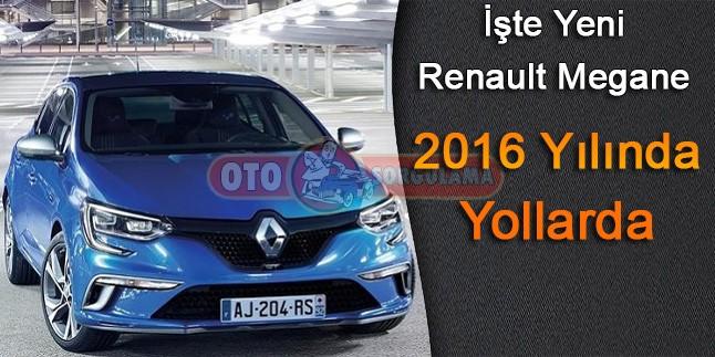 2016 Renault Megane Tanıtımı ve Resimleri
