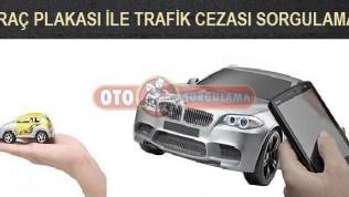 Araç Plakası İle Trafik Cezası Sorgulama