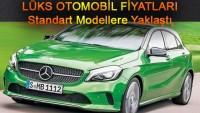 Lüks Otomobil Fiyatları Standart Modellere Yaklaştı