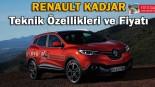 Renault Kadjar Teknik Özellikleri ve Fiyat Listesi
