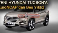 Yeni Hyundai Tucson'a EuroNCAP Beş Yıldız