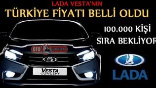 Lada Vesta'nın Türkiye Satış fiyatı belli oldu