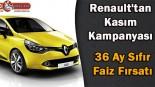 Renault'tan Kasım Kampanyası, 36 Ay Sıfır Faiz Fırsatı