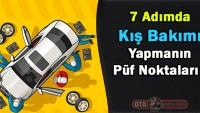 7 Adımda araç kış bakımı nasıl yapılır