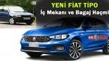 Fiat Tipo (Egea) İç mekanı ve Bagaj Haçmi