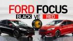 Ford Focus Red ve Black Edition Resimleri
