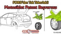 Ford'dan tek tekerlekli motosiklet patent başvurusu