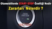 Otomobillerde Start-Stop nedir ve zararları  var mıdır?