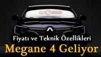 Yeni Kasa Renault Megane 4 Fiyatı ve Teknik Özellikleri 2016