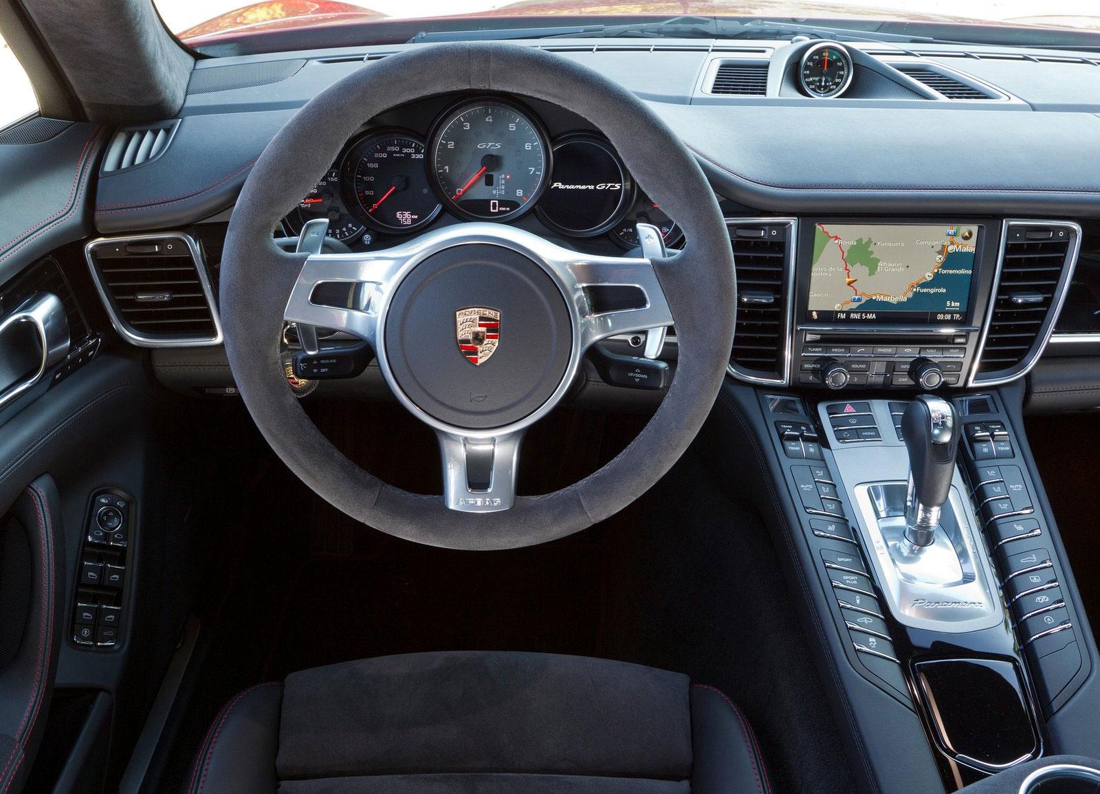 Porsche Panamera ici