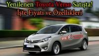 Yenilenen Toyota Verso satışta! İşte fiyatı ve Özellikleri