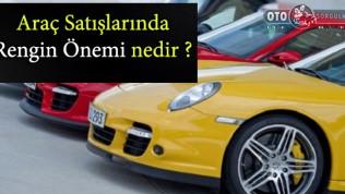 Araç Satışlarında Rengin Önemi nedir?