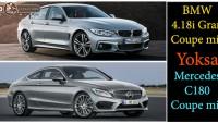 BMW 4.18i Gran Coupe mi? Yoksa Yeni Mercedes C180 Coupe mi?