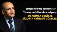 Mehmet Şimşek'ten flaş trafik sigortası açıklaması