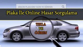 Plaka İle Online Hasar Sorgulama www.sigortam360.com