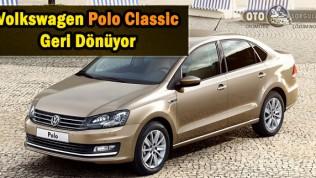 Volkswagen Polo Classic hayata VW Ameo olarak geri dönüyor !