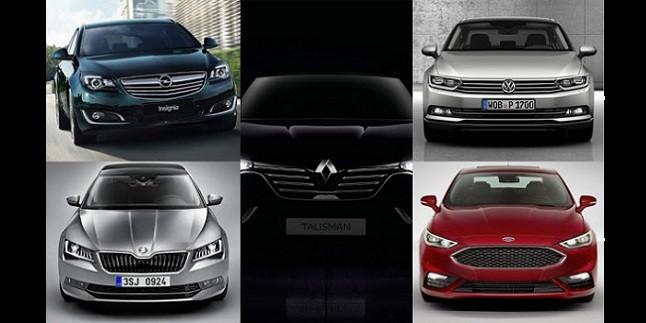 Opel Insignia-Renault Talisman-Skoda Superb-VW Passat-Ford Mondeo Karşılaştırması