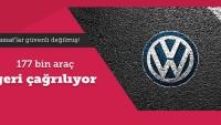 Yine Volkswagen 177 bin aracı daha geri çağırıyor