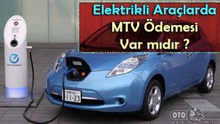 Elektrikli Araçlarda MTV Ödemesi Var mıdır ?