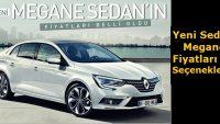 İşte Yeni Renault Megane Sedan'ın fiyatları