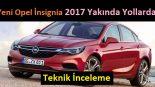 Yeni Opel insignia 2017 yakında yollarda