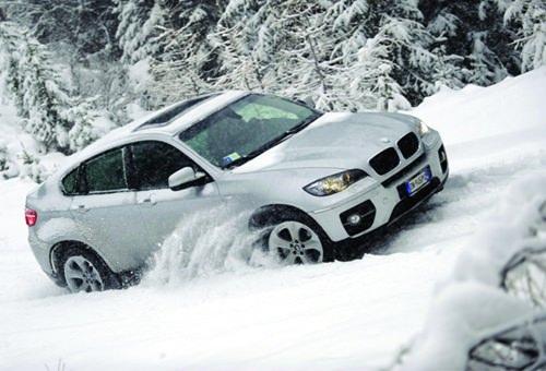 karda yokus inerken