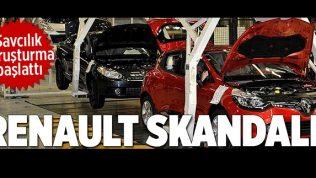 Renault'a egzoz emisyon hilesi soruşturması