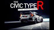 Yeni Civic Type R daha güçlü daha agresif.